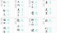 平成27年1月 短文縦書き入門4級(1)